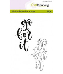 CRAFTEMOTIONS DIE - Handetter - Go for it
