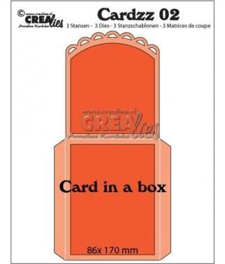 CREALIES - Card in a box CLCardzz02