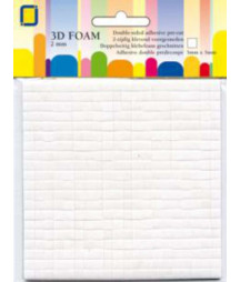 3D FOAM - Foam dots 2 x 5 x 5 mm 2