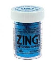 ZING - Polvere da Embossing - Blue - glitter finish