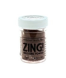 ZING - Polvere da Embossing - Copper - metallic finish