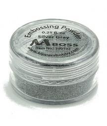 MBOSS - Polvere da Embossing - Silver Gray