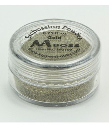 MBOSS - Polvere da Embossing - Gold