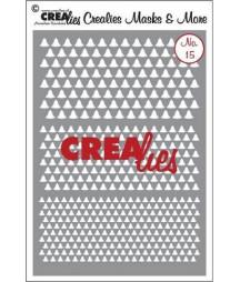 CREALIES - Masks & More no. 15 Sunburst curled