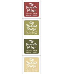 MY FAVORITE THINGS  - Premium Dye Ink Cubes - Set 2