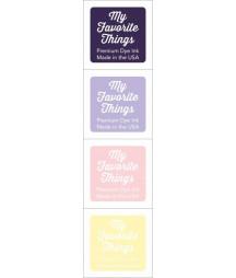 MY FAVORITE THINGS  - Premium Dye Ink Cubes - Set 4 - Eggplant
