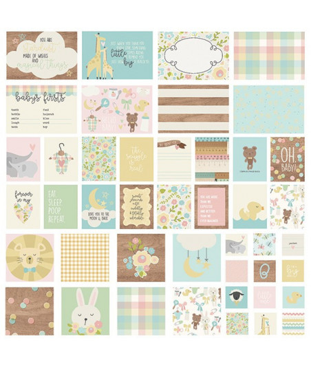 SIMPLE STORIES - Oh, Baby!  - SN@P! Cards