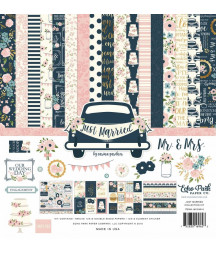 ECHO PARK - Just Married - 12x12  Pad Collection Kit