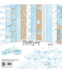 MODASCRAP - Blue cotton Candy