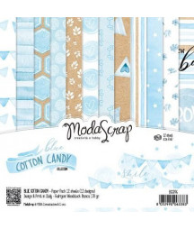 MODASCRAP - Blue cotton Candy