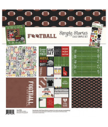 SIMPLE STORIES - Football -  Collection Kit 12x12