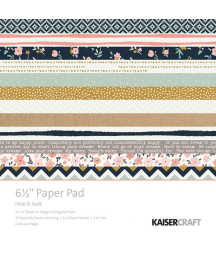 KAISERCRAFT - Hide & Seek - 6 1/2 x 6 1/2  Paper Pad