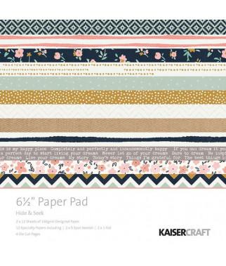 KAISERCRAFT - Hide & Seek - 6 1/2 x 6 1/2  Paper Pad