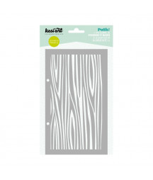 KESI'ART - Posh! Wooden pattern
