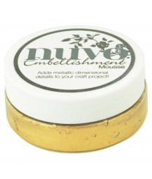 Nuvo Embellishment Mousse Indian Gold