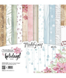 "MODASCRAP - CHRISTMAS HOLIDAYS 12""x12""  Pad Collection Kit"