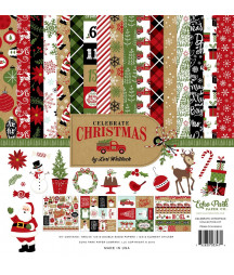 ECHO PARK - Celebrate Christmas - 12x12  Pad Collection Kit