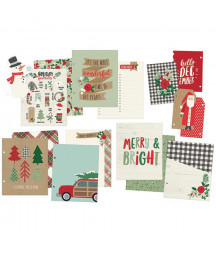 SIMPLE STORIES - Merry & Bright - 6x8 Album