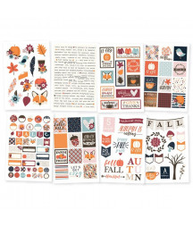 SIMPLE STORIES - Forever Fall - 4x6 Stickers