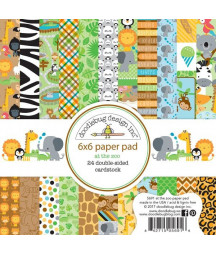 DOODLEBUG - Att the zoo - 6x6 Inch Paper Pad