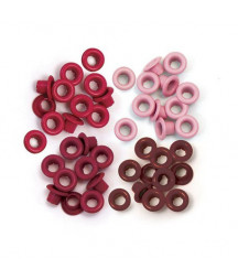WE R MEMORY KEEPERS - Standard Eyelets - Red