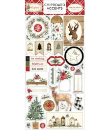 CARTA BELLA - Christmas 6x12 Inch Chipboard Phrases