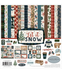 CARTA BELLA - Let It Snow 12x12 Inch Collection Kit