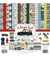ECHO PARK - Dog's Tail - 12x12  Pad Collection Kit
