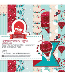 FLAVIR DESIGN - Christmas in flight - 12x12  Pad Collection Kit