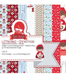 FLAVIR DESIGN - The little red christmas  - 12x12  Pad Collection Kit
