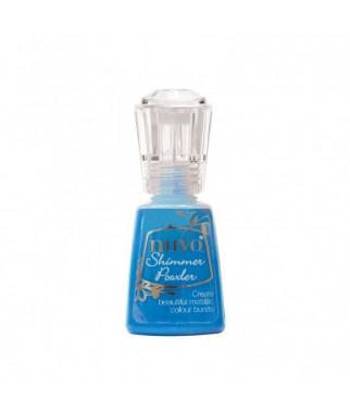 Nuvo Shimmer powder - blue blitz
