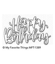 MY FAVORITE THINGS  - Die-namics  Happy Birthday