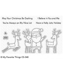 MY FAVORITE THINGS  - Clear Stamp - Santa & Friends Clear