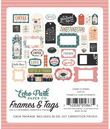 ECHO PARK - Coffee - Frame & Tags