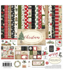 CARTA BELLA - Christmas 12x12 Inch Collection Kit