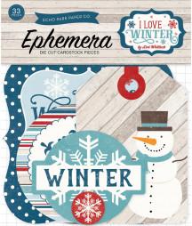 ECHO PARK - I Love Winter Ephemera