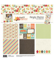 SIMPLE STORIES - Happy Harvest -  Collection Kit 12x12