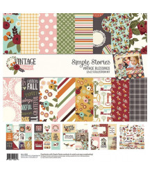 SIMPLE STORIES -  Vintage Blessings Collection Kit