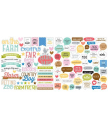 DOODLEBUG - Down on the Farm - Cut Pieces