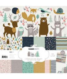 KAISERCRAFT - Hide & Seek 12x12  Pad Collection Kit