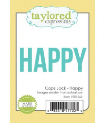TAYLORED EXPRESSIONS - Caps Lock - Happy