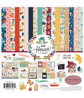 CARTA BELLA - Our House 12x12 Inch Collection Kit