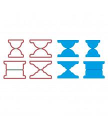 VAESSEN CREATIVE - Cutting die Rolodex no.3 tabs