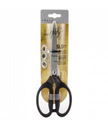 "TIM HOLTZ - Titanium shears 24cm 9.5"" micro serrated"