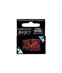 FLORILEGES - Mini attaches parisiennes Rose Thè