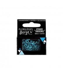 FLORILEGES - Mini attaches parisiennes Aigue Marine