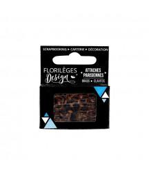 FLORILEGES - Mini attaches parisiennes Cappuccino