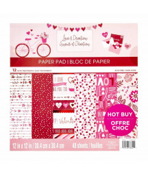 CRAFT SMITH - Love & Devotion 12x12 Inch Paper Pad
