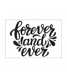 DARICE - Embossing template 10,8x14,6cm forever & ever