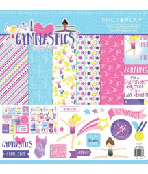 PHOTOPLAY -  I Heart Gymnastics 12x12 Collections